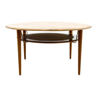 Peter Hvidt & Orla Mølgaard Nielsen Teak Coffee Table For Sale