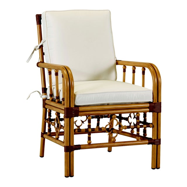 Celerie Kemble - Mimi Outdoor Dining Arm Chair For Sale