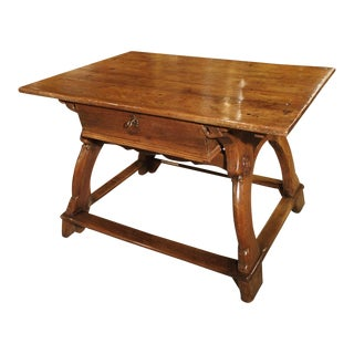 17th Century Swiss Money Changer Table For Sale
