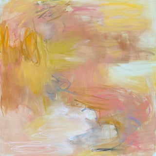 """""""Day Dream"""" by Trixie Pitts Abstract Expressionist Neutral Oil Painting For Sale"""