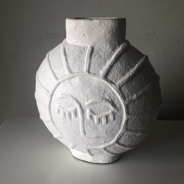 1950s Vintage Danish Mid Century Face Vase For Sale - Image 5 of 9