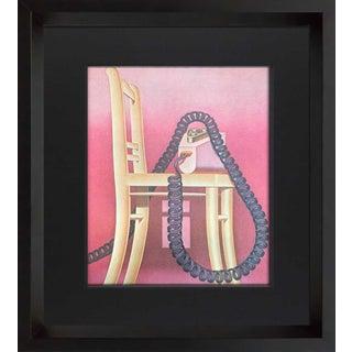 Konrad Klapheck Lithograph Ltd. Ed. 12/150 For Sale