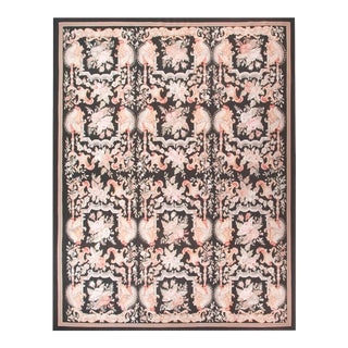 Aubusson Style Hand-Knotted Rug For Sale