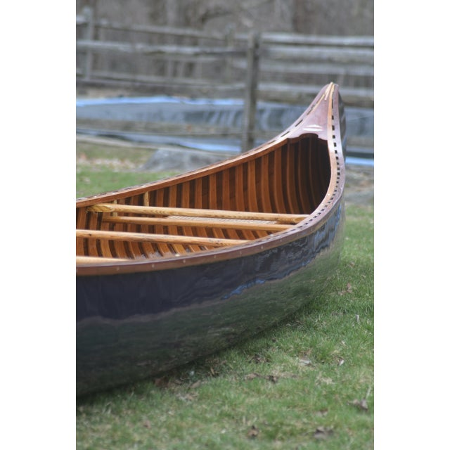 Fully Restored Antique Canoe - Image 4 of 7