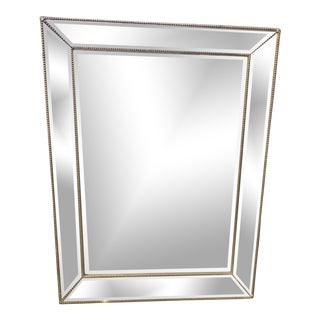 Restoration Hardware Venetian Beaded Mirror For Sale