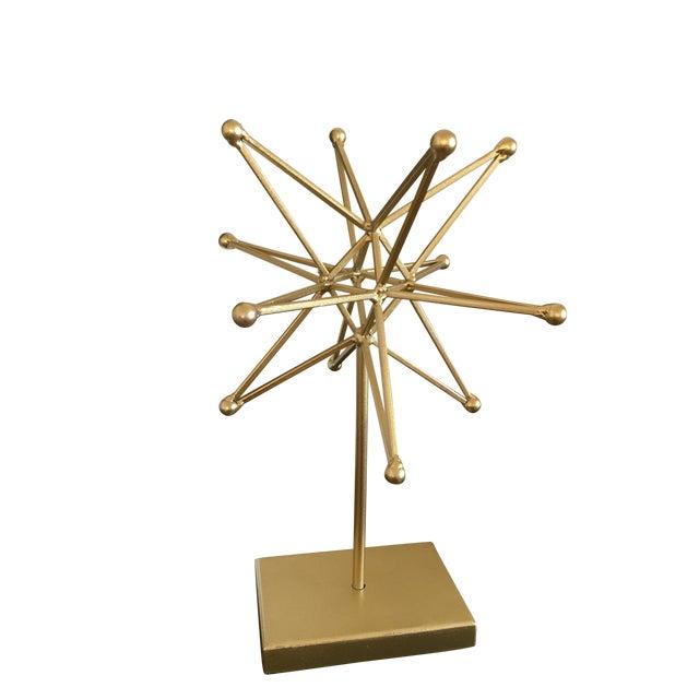 Mid Century Atomic Style Starburst Modern Art - Image 1 of 5