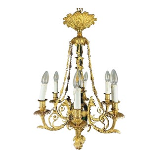 1880 French Louis XVI Chandelier For Sale