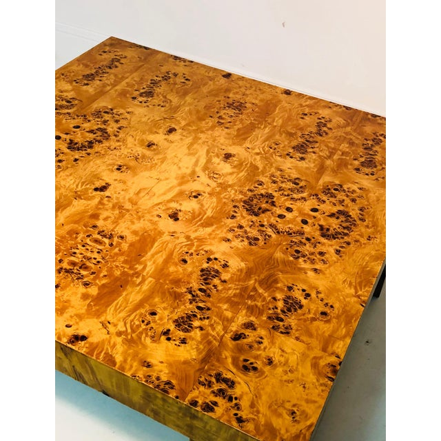 Exceptional Burl Wood Table For Sale In Philadelphia - Image 6 of 8