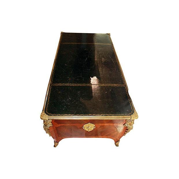 Antique French Ferdinand Marcos Estate Desk For Sale - Image 4 of 10