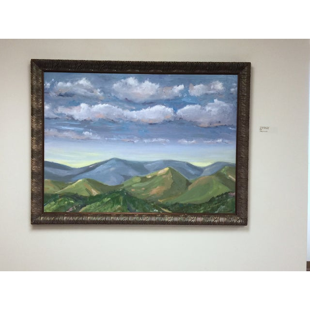 """""""A Time Before Time"""" Original Landscape Painting - Image 2 of 2"""