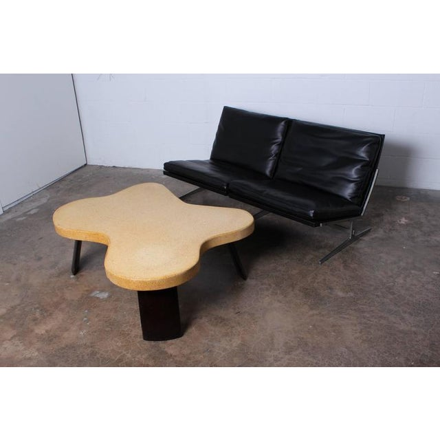 Amoeba Cork Top Coffee Table by Paul Frankl For Sale - Image 10 of 10