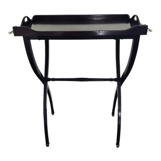 Bar Tray Table For Sale