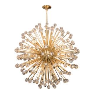 Murano Glass Ball Sputnik Chandelier For Sale