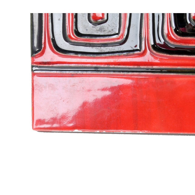 Stone Geisha Tile Wall Art Plaque For Sale - Image 7 of 9