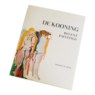 De Kooning: Recent Paintings Art Book For Sale