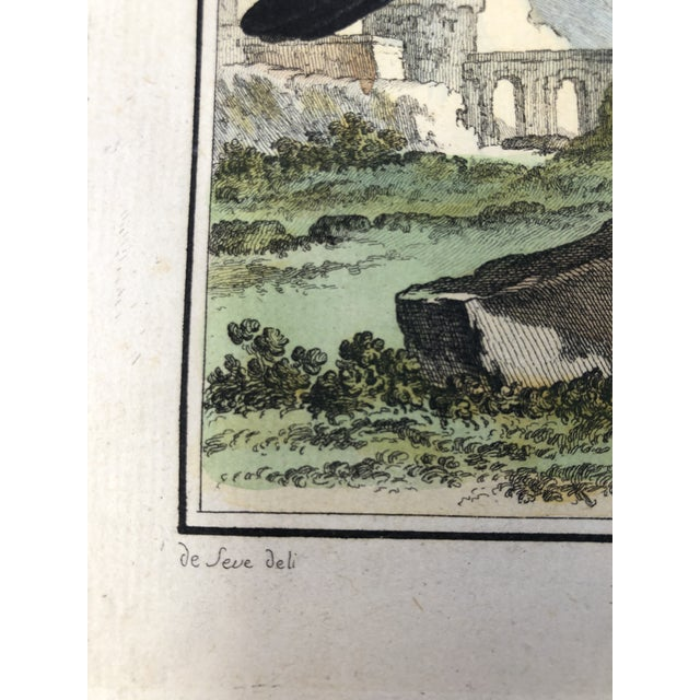 18th Century French Bird Engraving Signed by Jacques De Sève Featuring an Anis For Sale - Image 4 of 13