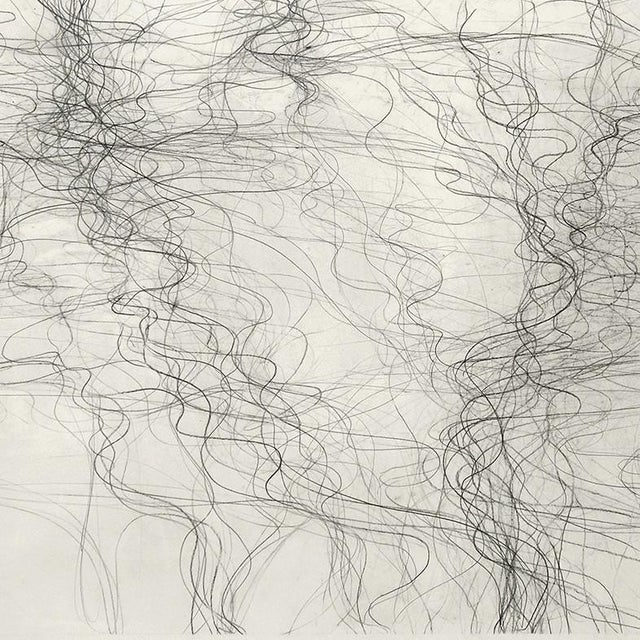 """Abstract Margaret Neill """"Prospectus 1"""" Drawing For Sale - Image 3 of 4"""
