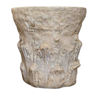 Formations Byzantine Cast Stone Table Base - Large (Retail $2219) For Sale