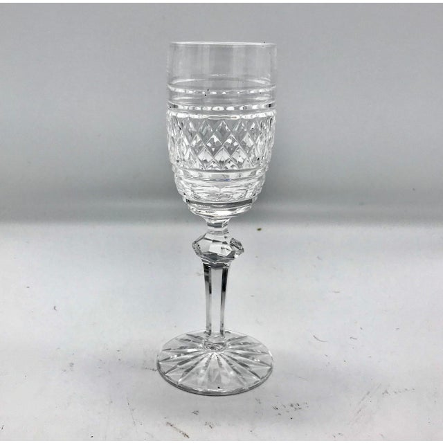 Transparent Waterford in Rare Archive Castletown Pattern Crystal Glasses - 18 Pieces For Sale - Image 8 of 11