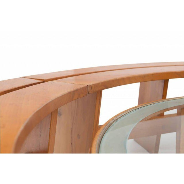 Pierre Chapo Curved Benches For Sale - Image 9 of 11