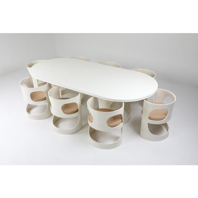 Arne Jacobsen Pre Pop Dining Table for Asko - 1969 For Sale - Image 6 of 12