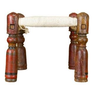 Sepau Handwoven Pidda Stool For Sale