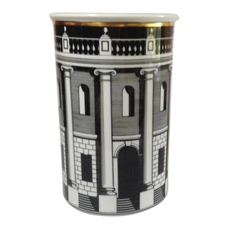 Rosenthal Fornasetti Palladiana Vase/ Wine Chiller For Sale