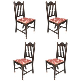 Image of Brick Red Dining Chairs