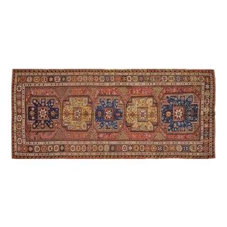 Antique Caucasian Konagkend Soumak Rug - 5'x11'6″ For Sale