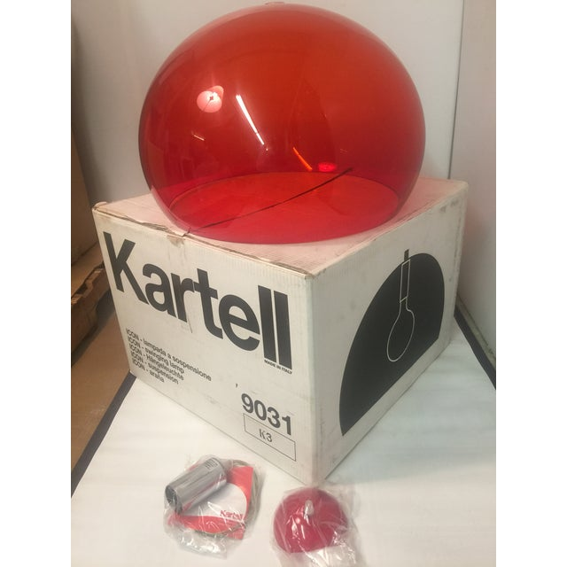 The Kartell FL/Y transparent hanging lamp (also sometimes known as the ICON lamp) was designed by Ferruccio Laviani in...