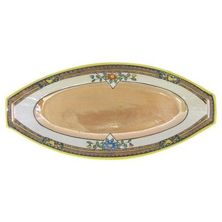 Art Deco Lustreware Catchall, Circa 1920's For Sale