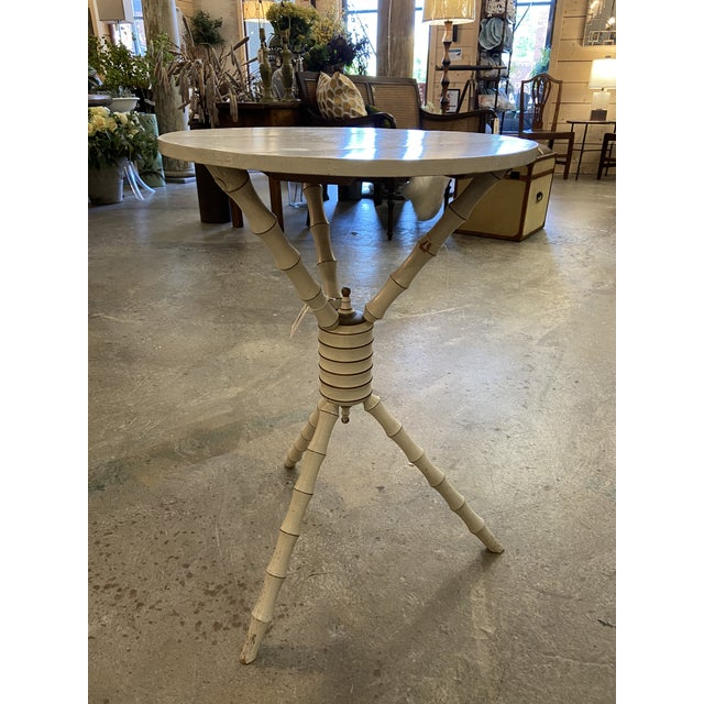 1800's 3 Legged Round Gueridon Table For Sale - Image 13 of 13