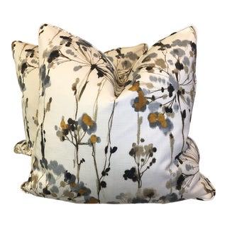 "Dandelion Print 22"" Pillows-A Pair For Sale"