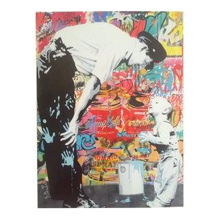 """Mr. Brainwash """"Not Guilty"""" Original Lithograph Print Pop Art Poster"""
