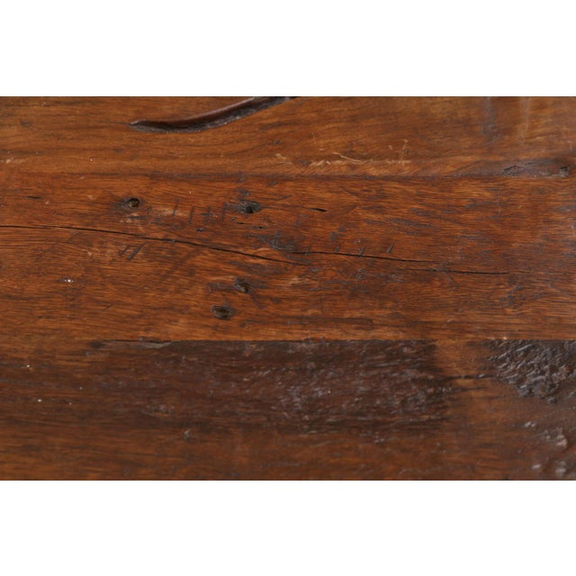 2010s French Walnut Vanity Table For Sale - Image 5 of 8