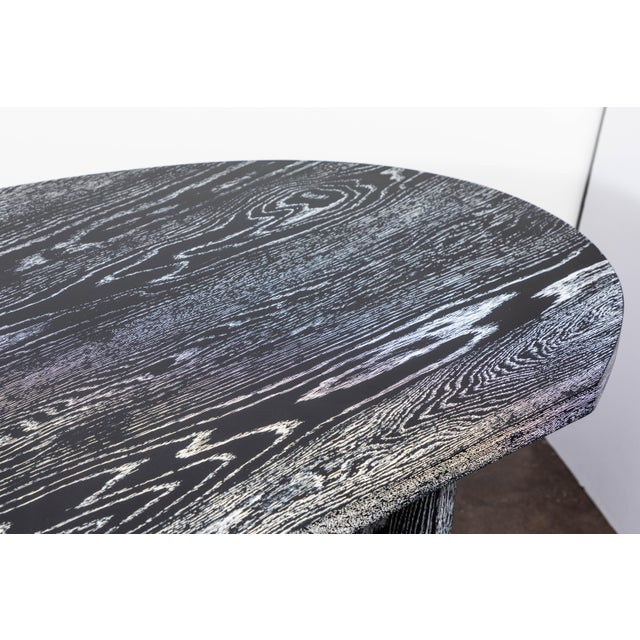 Metal Disc Desk From on Madison For Sale - Image 7 of 10