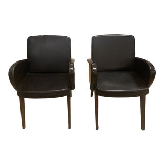 Mid Century Italian Desk Chairs- A Pair For Sale