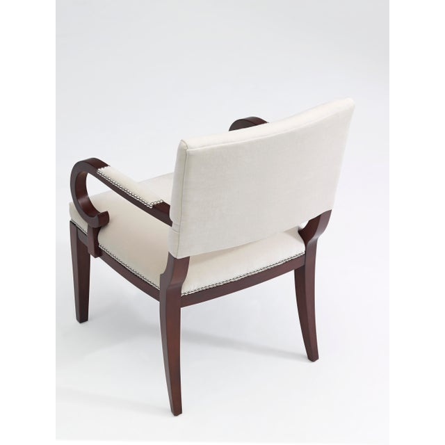 Traditional Ralph Lauren Mayfair Dining Arm Chair For Sale - Image 3 of 6