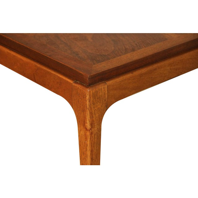 Mid Century Modern Lane Walnut Coffee Table For Sale - Image 10 of 11