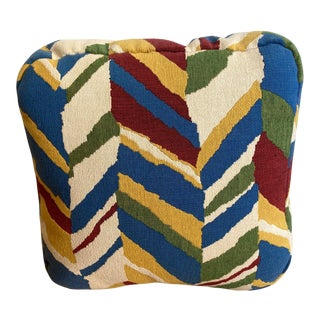 Knoll Fabric Box Pillow For Sale