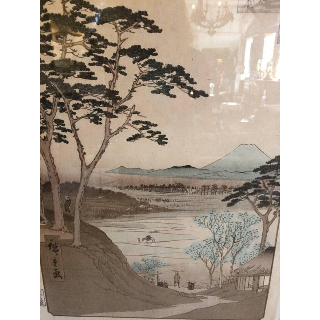 Asian Asian Framed Prints From Trowbridge - a Pair For Sale - Image 3 of 9