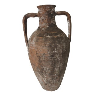 Turkish Antique Terracotta Water Jar