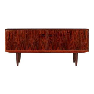 Low Danish Sideboard by E. Brouer for Brouer Møbelfabrik, 1960s For Sale