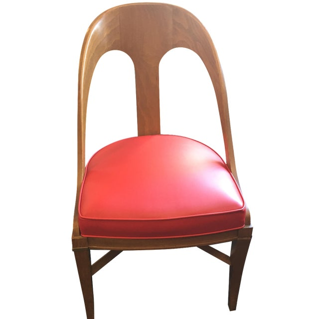 Vintage Mid-Century Modern Teak Chair - Image 1 of 9