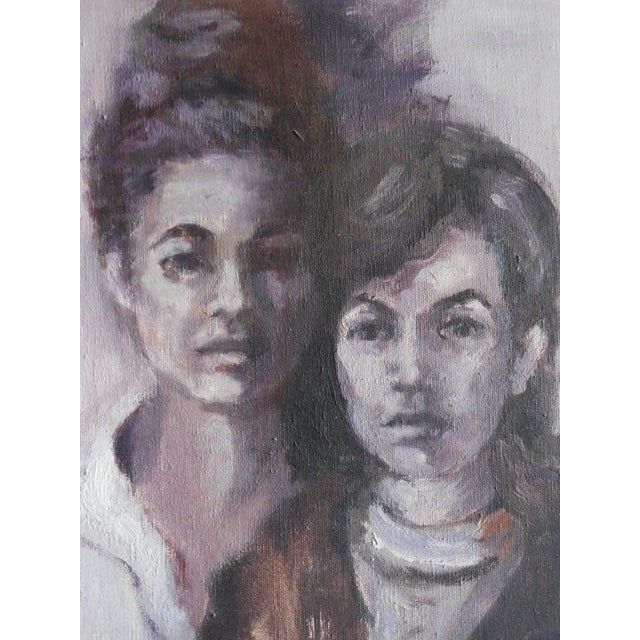 1965 Portrait of Two Women - Image 3 of 8