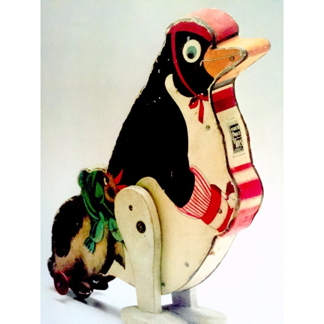 """Paper """" Jouets Americains 1925 - 1975 """" Rare 1980 Lithograph Print Vintage Toys Museum Exhibition Poster For Sale - Image 7 of 11"""