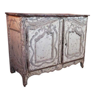French Provincial Painted Buffet For Sale