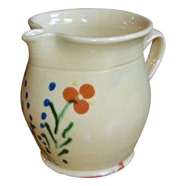 French Terracotta Pitcher For Sale
