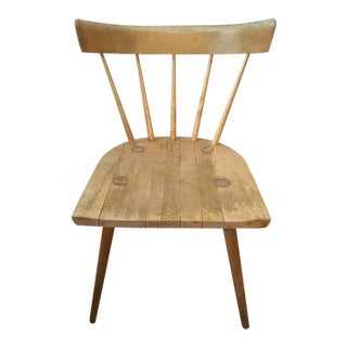 Paul McCobb Planner Group Mid-Century Modern Winchedon Maple Desk / Side Chair For Sale