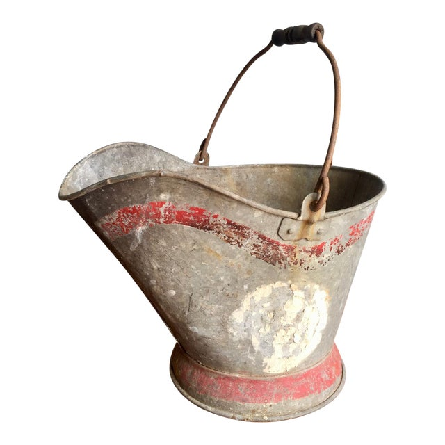 Vintage Coal Scuttle Bucket For Sale